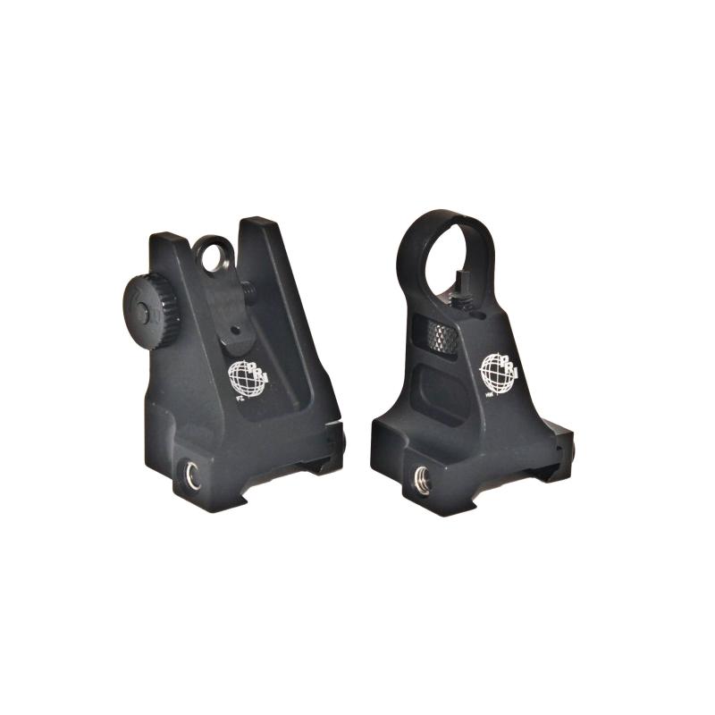 PRi Fixed Front and Rear Sight w/Thumb Wheel Adj.