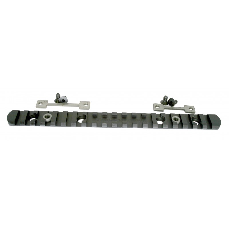 """8.5"""" round forearm top rail with lugs"""