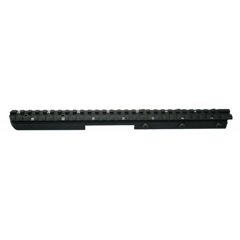 Gen III Carbine Delta Forearm SPR Straight Top Rail Carbine length