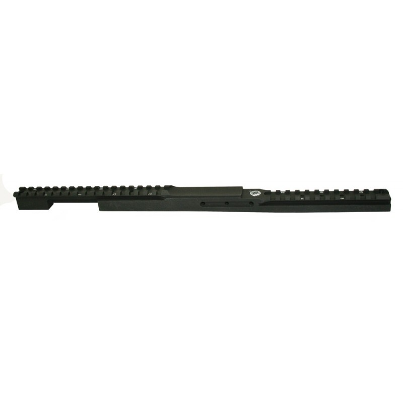 Rem 700 S.A Step Down Rail w Front Objective Clearance & 25moa