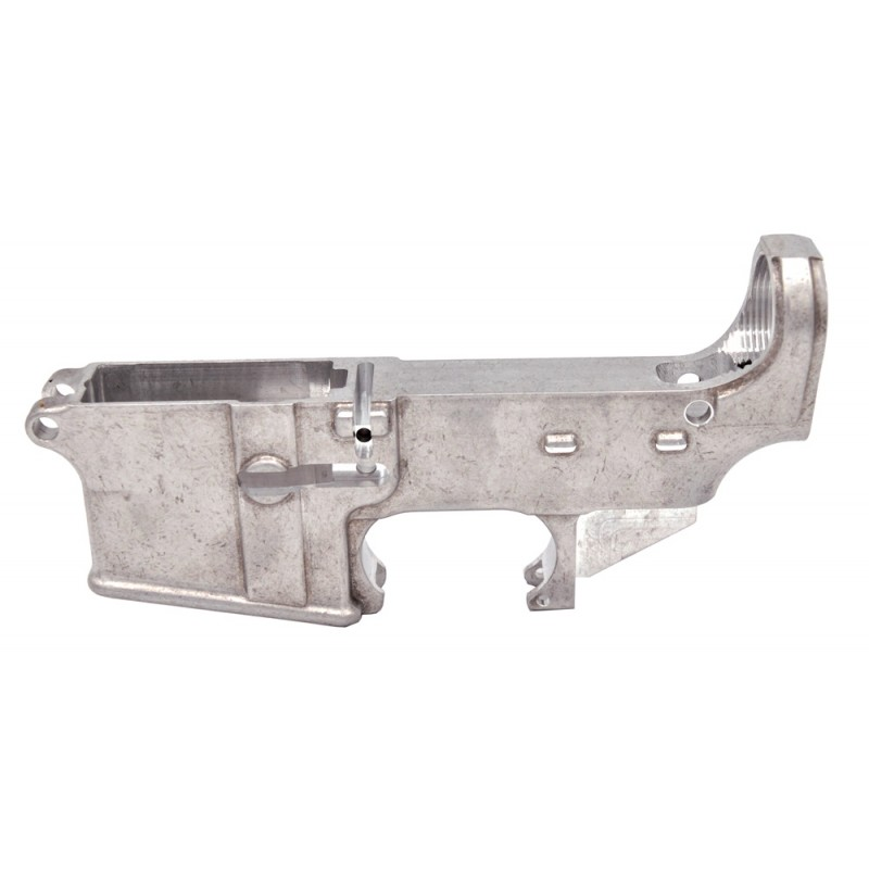 AR15 80% Lower Receiver white finish