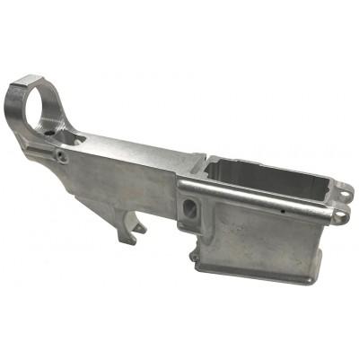 AR15 A1 80% Lower Receiver White Aluminum