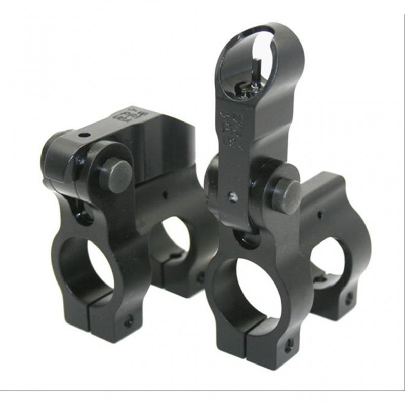 308 DPMS Flip up front sight gas block .875 Dia.