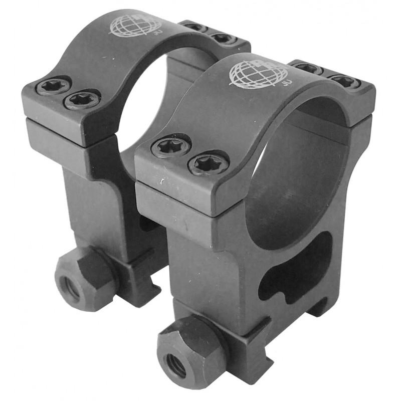 30mm Extra High Aluminum Rings