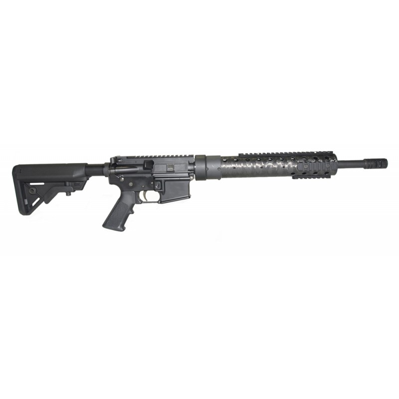 """Entry Level 16"""" Rifle with Bergara 1-8 Barrel (Black & Natural Combo)"""