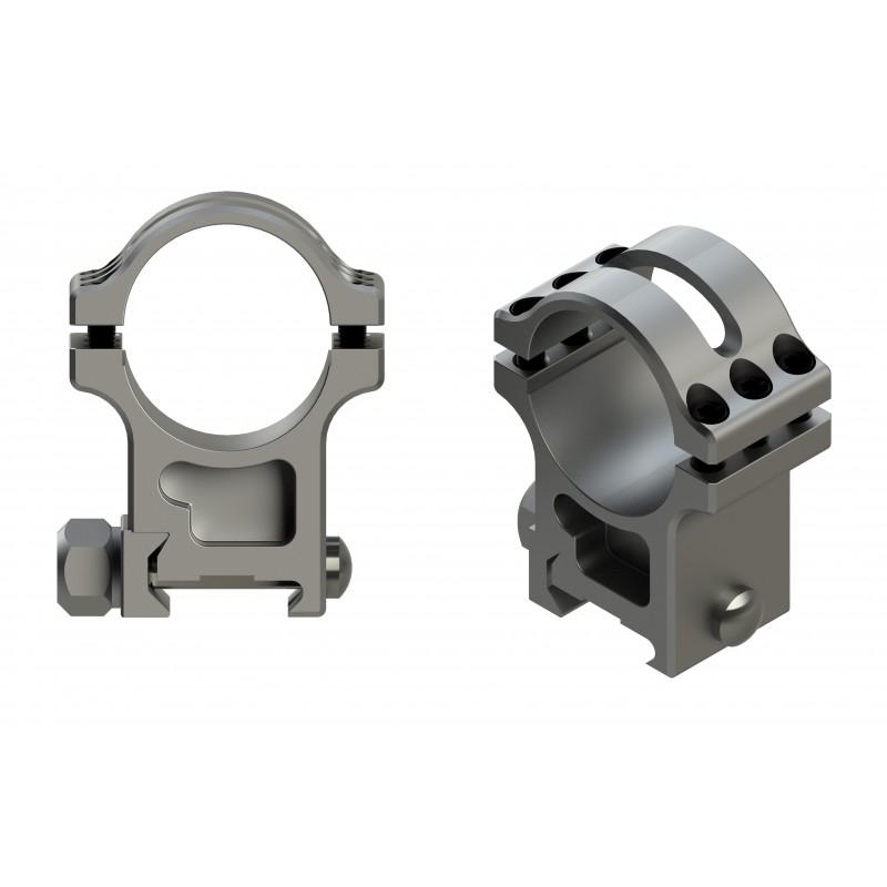30mm Heavy Duty Steel Scope Rings
