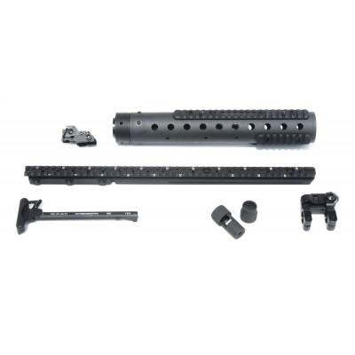 MK 12 Mod 0 GenII DIY Kit w/ ARMS 40 & Straight rail, Black Finish