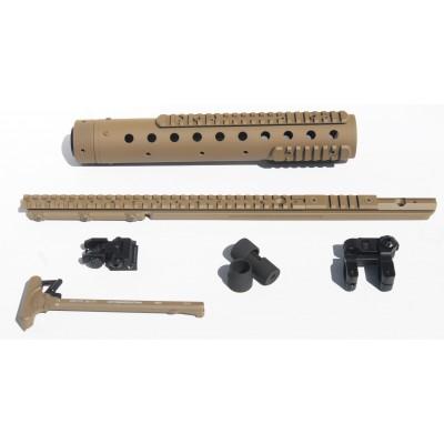 MK 12 Mod 0 GenII DIY Kit w/PRI Rear sight & PEQ II rail, Flat Dark Earth Finish