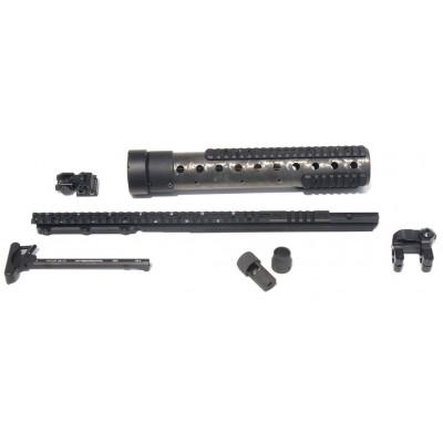 MK 12 Mod 0 Gen III DIY Kit w/PRI Rear sight & PEQ II rail, Nat. Finish