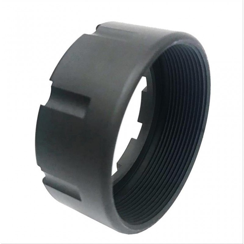 AR15-M16 Replacement Forearm Collar W/Notched Grooves & Black Finish